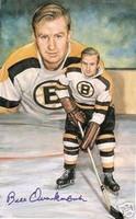 Bill Quackenbush Autographed Legends of Hockey Card