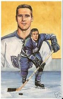 Tim Horton Legends of Hockey Card #24