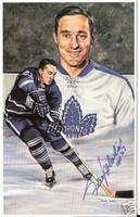 Frank Mahovlich Autographed Legends of Hockey Card