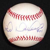 Victor Martinez Autographed Baseball
