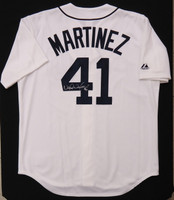 Victor Martinez Replica Jersey Autographed