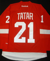 Tomas Tatar Autographed Detroit Red Wings Home Jersey (Pre-Order)