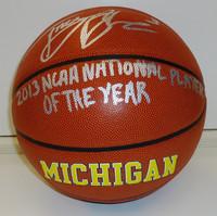 Trey Burke Autographed Basketball