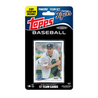 2014 Detroit Tigers Topps Team Set