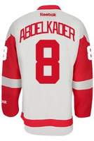 Justin Abdelkader Autographed Detroit Red Wings Road Jersey (Pre-Order)