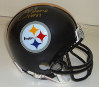 Joe Greene Autographed Mini Helmet