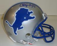 Chris Spielman Autographed Helmet