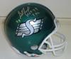 George Reed Autographed Helmet