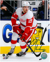 Riley Sheahan Autographed Photo