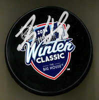Jimmy Howard Autographed 2014 Winter Classic Souvenir Puck (Pre-Order)