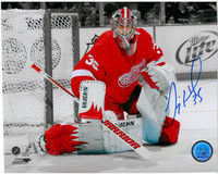 Jimmy Howard Autographed 8x10 Photo #2 - Spotlight (Pre-Order)