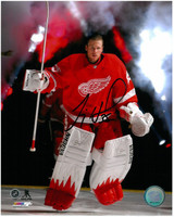 Jimmy Howard Autographed 8x10 Photo #4 - Player Intro (Pre-Order)