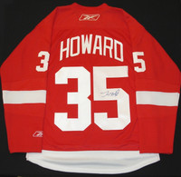 Jimmy Howard Autographed Detroit Red Wings Home Jersey (Pre-Order)