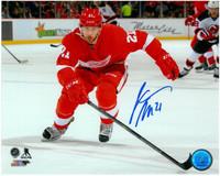 Tomas Tatar Autographed Photo