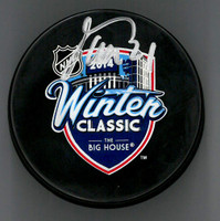 Tomas Tatar Autographed Puck