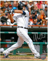 Alex Avila Autographed Detroit Tigers 8x10 Photo #14 - Swinging
