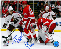 Jimmy Howard & Niklas Kronwall Autographed Photo