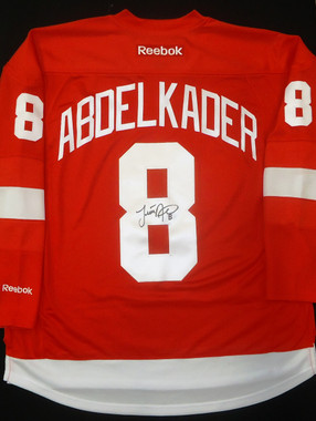 Justin Abdelkader Autographed Detroit Red Wings Jersey