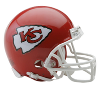Eric Fisher Autographed Kansas City Chiefs Mini Helmet