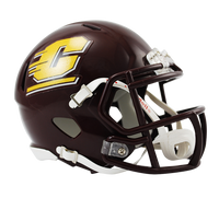 Eric Fisher Autographed Central Michigan Mini Helmet