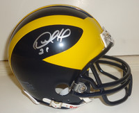Desmond Howard Autographed Michigan Wolverines Mini-Helmet