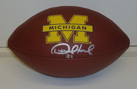 Desmond Howard Autographed Michigan Football