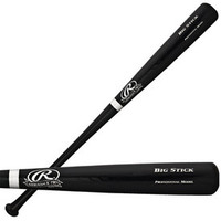 Al Kaline Autographed Rawlings Big Stick Bat - Black (Pre-Order)