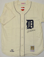 Al Kaline Autographed Detroit Tigers 1968 Home Jersey Mitchell & Ness (Pre-Order)