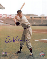 Al Kaline Autographed 8x10 Photo #2 - 1950's Batting (Pre-Order)