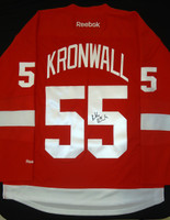 Niklas Kronwall Autographed Jersey