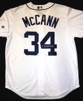 James McCann Autographed Detroit Tigers Home Jersey (Pre-Order)