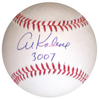 "Al Kaline Autographed Baseball - Official Major League Ball inscribed ""3007"" (Pre-Order)"