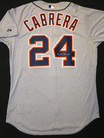 Miguel Cabrera Autographed Detroit Tigers Jersey - Road Authentic (Pre-Order)