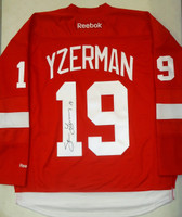 Steve Yzerman Autographed Detroit Red Wings Red Jersey (Pre-Order)