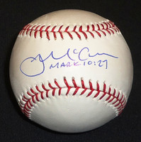 James McCann Autographed Official Major League Baseball