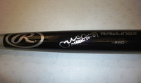 James McCann Autographed Bat