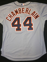 Joba Chamberlain Game Used 2014 Detroit Tigers Road Jersey