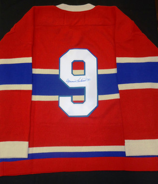 Maurice Richard Autographed Sweater