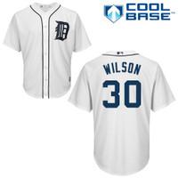 Alex Wilson Autographed Detroit Tigers Home Jersey (Pre-Order)