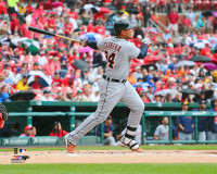 Miguel Cabrera Autographed 16x20 Photo #4 - 400th Home Run (Pre-Order)