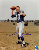 Johnny Unitas Autographed Photo