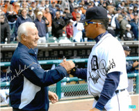 Al Kaline and Miguel Cabrera Autographed Photo
