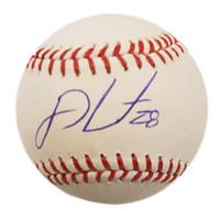 J.D. Martinez Autographed Baseball