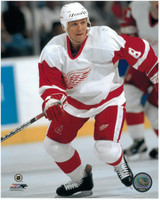 "Igor Larionov Autographed Detroit Red Wings 8x10 Photo #2 - White Inscribed ""HOF 08"" (Pre-Order)"