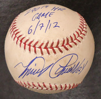 Miguel Cabrera Game Used Autographed Baseball