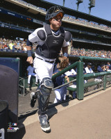 James McCann Autographed 8x10 Photo #4 - Ready for Action (Pre-Order)