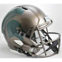 MSU Spartans Bronze Mini Helmet