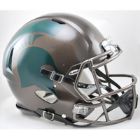 MSU Spartans Bronze Speed Helmet
