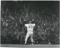 Kirk Gibson Autographed 8x10 Photo #2 - 1984 WS HR - B&W (Pre-Order)