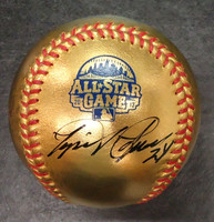 Miguel Cabrera Autographed 24 KT Gold 2013 All Star Game Baseball